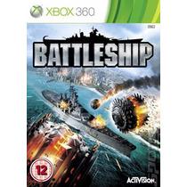 Battleship Jogo Xbox 360 Original Lacrado X360