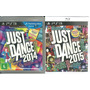 Kit Jogo Just Dance 2014 + Just Dance 2015 Ps3 Midia Fisica