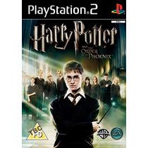 Harry Potter E A Ordem Da Fênix - Dublado - Ps2 Game Patch