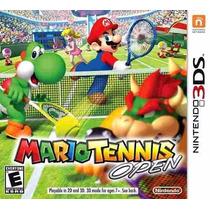 Jogo Mario Tennis Open 3ds Original Pronta Entrega