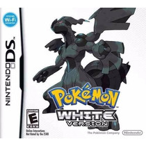 Jogo Pokemon White Version Original Para Nintendo Ds A5825