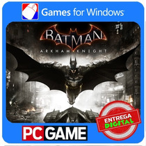 Batman Arkham Knight Pc + Harley Quinn Story Pack Steam