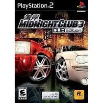 Midnight Club 3 Ps2 Patch - Frete Só 6,00