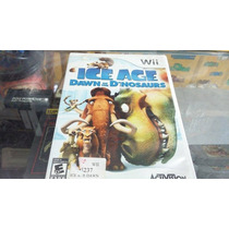 Ice Age Dawn Of Dinossaurs Nintendo Wii Seminovo