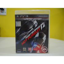 Need For Speed Hot Pursuit Limited Edition - Ps3 - Completo!