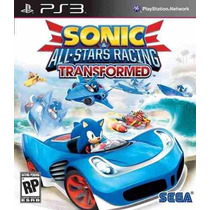 Sonic & All-stars Racing Transformed Ps3 Código Psn