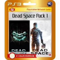 Dead Space 2 + Dead Space 3 Num Só Pacote! (código Ps3)
