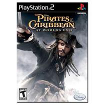 Piratas Do Caribe , No Fim Do Mundo. ! Jogos Ps2