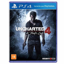 Uncharted 4 Ps4 Thiefs End Em Português - Mídia Física