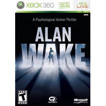 Alan Wake - Xbox 360 Original Lacrado