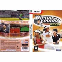 Virtua Tennis 2009 Pc Dvd Rom Novo