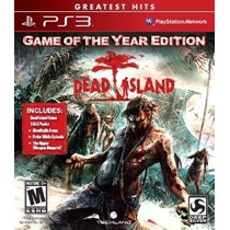 Dead Island - Game Of The Year Edition Playstation 3 Ps3