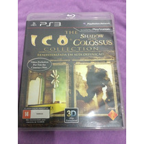 Ico & Shadow Of The Colossus Collection Ps3 Impecável