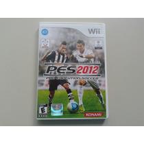 Pes 2012 Pro Evolution Soccer Orig Americano P Nintendo Wii