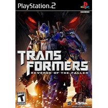 Transformers Revenge Of The F Ps2 Patch Com Capa E Impressão
