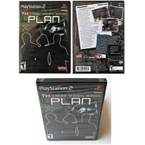 The Plan Th3plan Original Sony Ps2 Novo, Lacrado Playstation