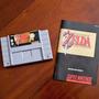 The Legend Of Zelda: A Link To The Past C/ Manual Snes - Eua