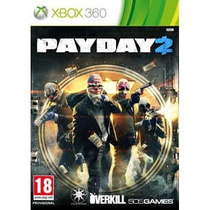 Jogo Payday 2 Xbox Pay Day 2 Frete Sedex Apartir R$ 5,00