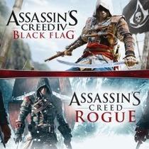 Ps3 Assassins Creed 4 Black Flag + Rogue Em Português Brasil