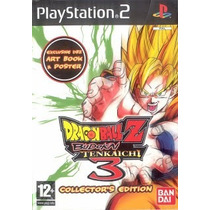 Dragon Ball Z Budokai 3 Collect Edition Ps2 Patch + 1 Brinde