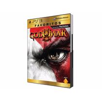 God Of War 3 - Jogo Ps3 - Novo - Loja Oficial