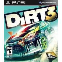 Jogo Ps3 Dirt 3 Midia Fisica (original) Novo Lacrado