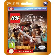 Lego Pirates Of The Caribbean (código Id Ps3)