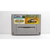 Jogo Super Nintendo Jaleco Rally Big Run Japones Famicom