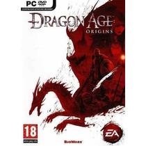 Game - Pc Dvd Rom Jogo Dragon Age Origins - Original