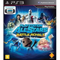 Playstation All Stars Battle Royale - Ps3 Sony Midia Fisica