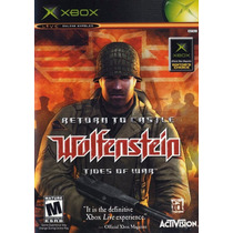 Return To Castle Wolfenstein - Xbox Original!