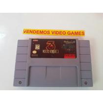 Mortal Kombat 3 Snes Original Super Nintendo