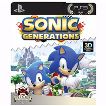 Sonic Generations - Ps3 Cod Psn - Preço Justo!!