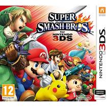 Jogo Super Smash Bros 3ds Pronta Entrega