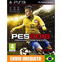 Pes 2016 - Pro Evolution Soccer 2016 - Ps3 - Psn - Promoção