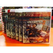 Jogo Uncharted 2 Among Thieves Playstation 3, Novo, Fisico