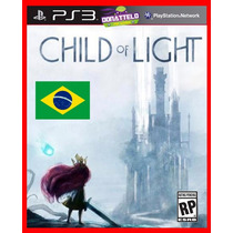 Child Of Light Ps3 Psn Aventura Dublado + Jogo Brinde