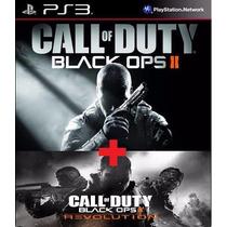 Call Of Duty Black Ops 2 + Dlc Revolution Ps3 Código Psn