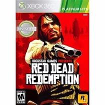 Red Dead Redemption Xbox 360 Ntsc Platinum Hits Lacrado