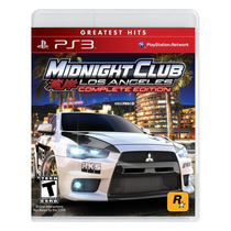 Playstation 3 - Midnight Club: Los Angeles Complete Edition