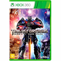 Transformers Rise Of The Dark Spark - Xbox 360 - Lacrado