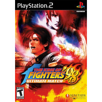 Ps2 - The King Of Fighters 98 Ultimate Match 12x/sjuros