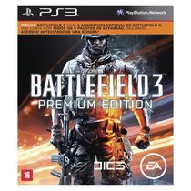 Jogo Battlefield 3 Premium Edition Ps3 Midia Fisica Lacrada