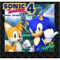 Sonic The Hedgehog 4 Episode Ii Jogos Ps3 Codigo Psn