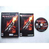Play 2: Resident Evil Outbreak Americano Completo!! Jogaço!!