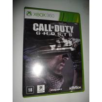 Jogo Call Of Duty Ghosts Xbox 360 (original)