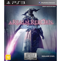 Jogo Ps3 Final Fantasy Xiv Realm Reborn