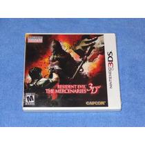 Resident Evil The Mercenaries 3d Nintendo 3ds Novo Lacrado