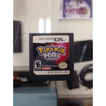 Pokemon Pearl Nintendo Ds 3ds 2ds 100% Original Americano