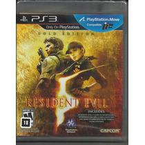 Resident Evil 5: Gold Edition - Ps3. Lacrado. Pronta Entrega